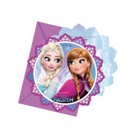 Poze Invitatii Frozen - Regatul de Gheata