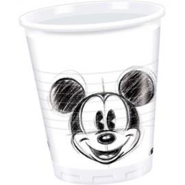 Poze Pahare Mickey Mouse alb negru