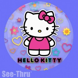 Poze Balon folie transparenta Hello Kitty Tween