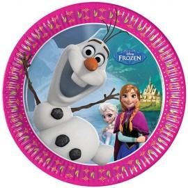 Poze Farfurii Frozen - Regatul de Gheata 20 cm