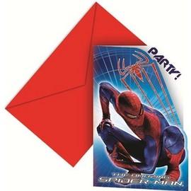 Poze Invitatii party Amazing Spiderman