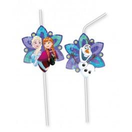Poze Set 6 paie cu medalion Frozen Snowflakes