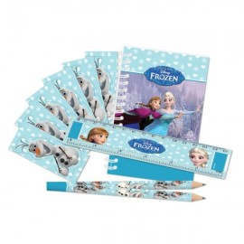 Poze Set party rechizite Frozen Ice Skating 20 piese