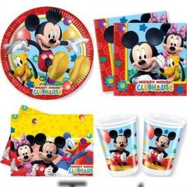 Poze Set petrecere Mickey Mouse Playful 8 copii