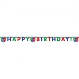 Poze Banner Happy Birthday Eroi in pijama