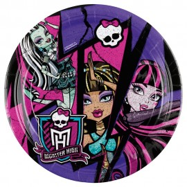 Poze Farfurii Monster High 23 cm