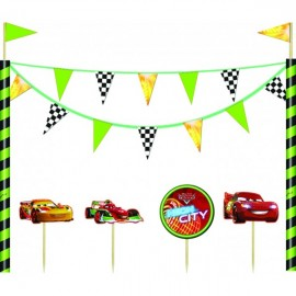 Poze Kit decor tort Cars Neon