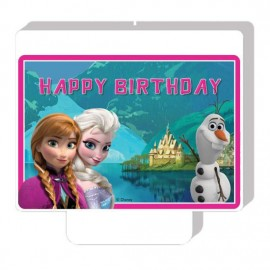 Poze Lumanare Frozen Happy Birthday