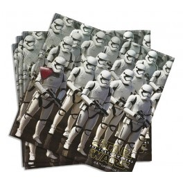 Poze Set 20 servetele party Star Wars Force Awakens