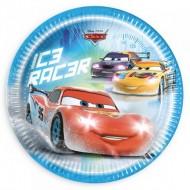 Farfurii 23 cm Cars Ice