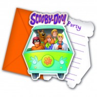 Invitatii party Scooby Doo