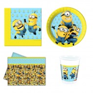 Set petrecere Lovely Minions 8 copii