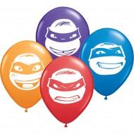 Baloane Testoasele Ninja 100 bucati