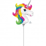 Balon mini folie Unicorn