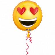 Balon Smiley Love