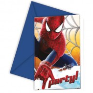 Invitatii party Amazing Spider-Man 2