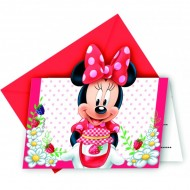 Invitatii party Minnie Jam Packed with Love
