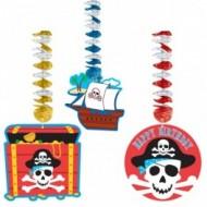 Set 3 spirale Pirati