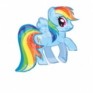 Balon Rainbow Dash