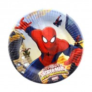 Farfurii 20 cm Ultimate Spiderman Web-Warriors