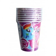 Pahare party Little Pony - calitate superioara carton
