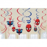 Serpentine decor cu Spiderman