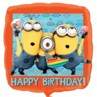 Balon folie 45 cm Minion Happy Birhday