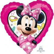 Balon Minnie Mouse inima