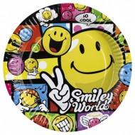 Farfurii Smiley World 23 cm