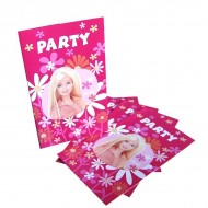 Invitatii party Barbie
