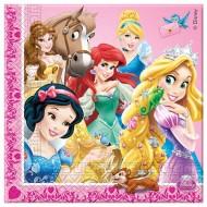 Servetele party Princess & Animals