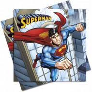 Servetele petrecere Superman