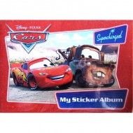 Album Cars cu stickere