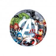 Farfurii Avengers Lupta