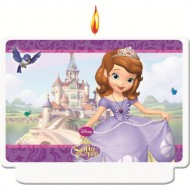 Lumanare Printesa Sofia Happy Birthday