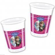 Pahare party Frozen - Regatul de Gheata