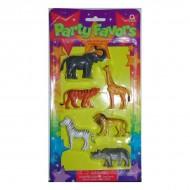 Set jucarii animalute Jungle pentru pinata