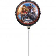 Balon Avengers mic