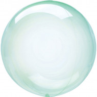 Balon transparent verde