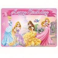 Lumanare Princess Happy Birthday
