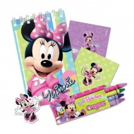 Set party rechizite 20 piese Minnie Mouse