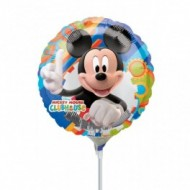 Balon Mini Folie Mickey Club
