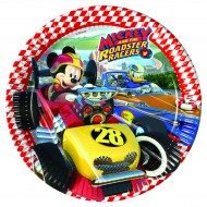 Farfurii 23 cm Mickey si Pilotii de Curse