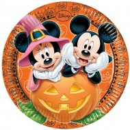 Farfurii Halloween Mickey