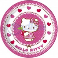 Farfurii Hello Kitty Hearts 20 cm