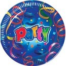 Farfurii Party Streamers Prismatic 23 cm