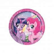 Farfurii Twilight Sparkle Pinkie Pie