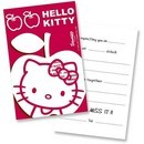 Invitatii party Hello Kitty Apple