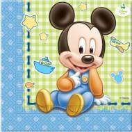 Servetele Mickey Baby