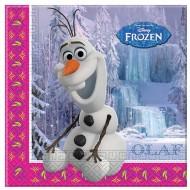 Servetele party Olaf- Regatul de Gheata